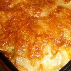 Bacon and Swiss Scalloped Potatoes recipe