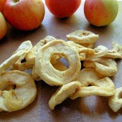 Decorative Dried Apples recipe