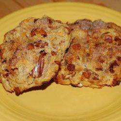 Maple Cinnamon Sweet Potato Scones With Pecans recipe