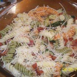Zucchini-Bacon Pasta Toss recipe