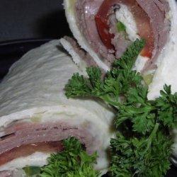 Roast Beef  Rolls recipe