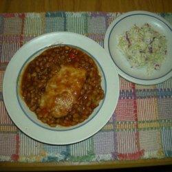 Pork Chops in Baked Beans recipe