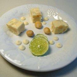 Lime and Macadamia Fudge recipe