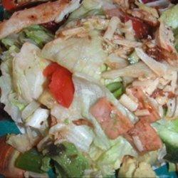 Chicken, Bacon and Avocado Salad recipe
