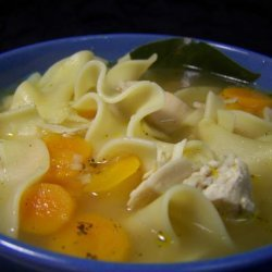 Soup With Mixed Pastas recipe