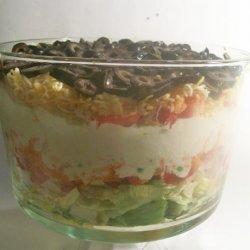 Layered Chef Salad recipe