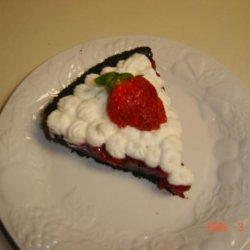 Raspberry Jello Pie recipe