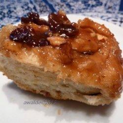 Bread Machine Cinnamon Buns With Walnuts & Raisins recipe