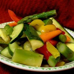 Sweet and Sour Marinated Vegetables recipe