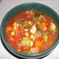 Yummy Vegetable Soup recipe