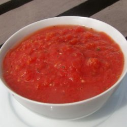Quick and Easy Homemade Pizza Sauce recipe
