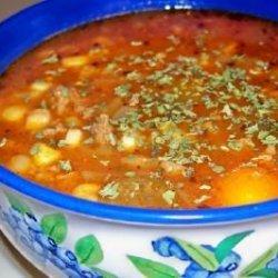 Chef Dee's Hamburger Soup recipe