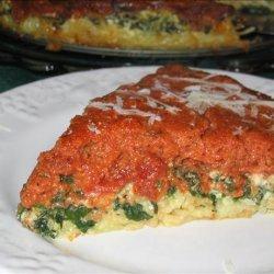 Layered Pasta Ricotta Pie recipe