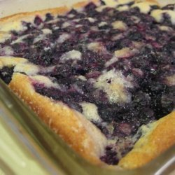 Fresh Blueberry Cobbler recipe
