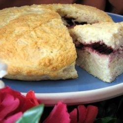 Scones Filled With Jam recipe