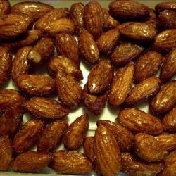 Burnt Almonds in the Microwave recipe