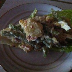 Caesar and Bacon Potato Salad recipe