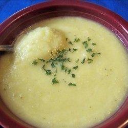 Leek Cream Soup recipe