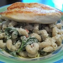 Sarasota's Light Version of Pasta Caesar Salad With Chicken recipe