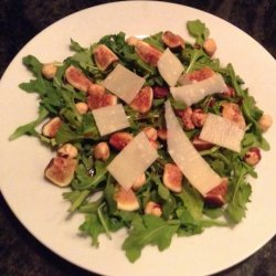 Mixed Greens With Fig and Wine Dressing recipe