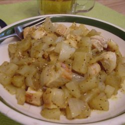 Nadia's Quick Chicken Curry recipe