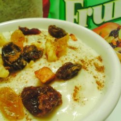 Jeweled Creamy Rice Pudding recipe