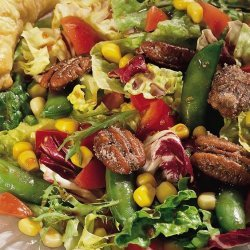 Crunchy Pea Salad recipe