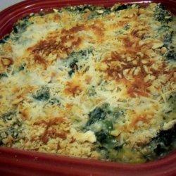 Spinach Corn Casserole recipe