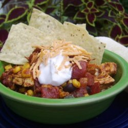 Mexican Rice Bowl With Chicken recipe