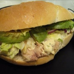 Touchdown Tortas With Chipotle Mayonnaise recipe