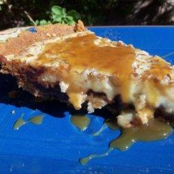 Chocolate Turtle Pie recipe