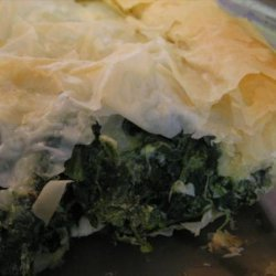 Quick & Easy Spinach and Feta Phyllo Pie recipe