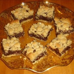 Peanut Butter Fudge Bars recipe