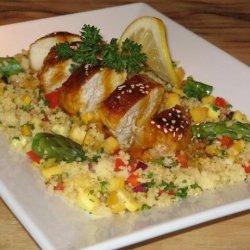 Lemon Chicken With Honey and Saffron, Elegant and Good! recipe