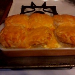 Cheesy Chicken and Biscuit Casserole recipe