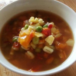A to Z Vegetable Soup recipe