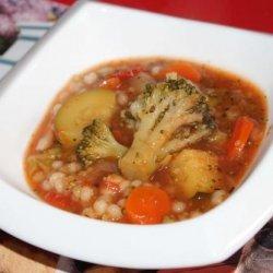 Crock Pot Vegetable Barley Soup recipe