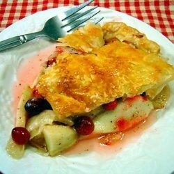 Apple and Cranberry Pie recipe