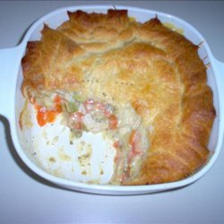 Chicken Pie for Three recipe