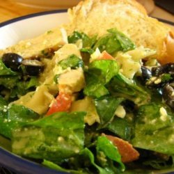 Spinach and Pasta Salad recipe