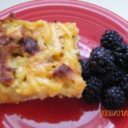 Farm Breakfast Strata recipe