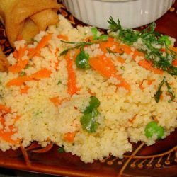 Carrot and Cilantro Couscous recipe
