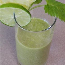 Kiwi, Pineapple, Mint,* Lime  Juice recipe