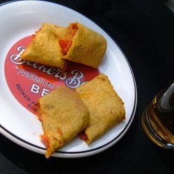 Pepperoni Pizza Wraps recipe