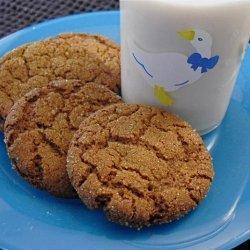 Wicklewood's  Ginger Nut Biscuits (Gluten Free) recipe