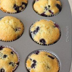 Very Blueberry Muffins recipe