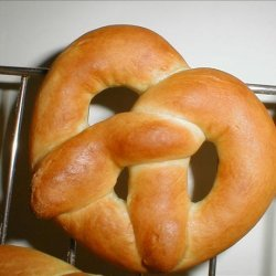 Yummy Soft Pretzels recipe