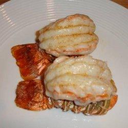 Butterflied Lobster Tails recipe