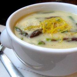 Lemon Asparagus Soup recipe