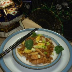 Fried Rice With Cilantro recipe